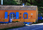 Colourful house close to Estoi
